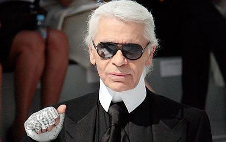 Karl Lagerfeld y su línea rockera asequible