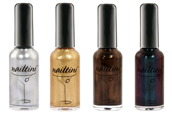 Uñas a lo Mad Men con Nailtini