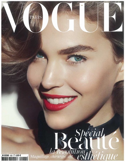 Sonrisa en la portada de Vogue Paris