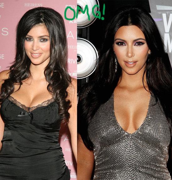 Así era Kim Kardashian en el 2006 ¡Su cara no parece la misma!