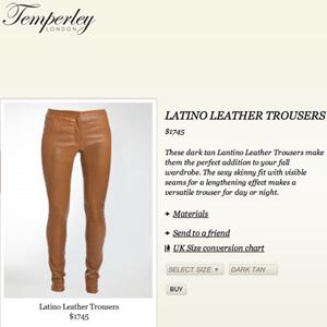 """Unos pantalones son descritos como """"latinos"""" por su color tostado"""