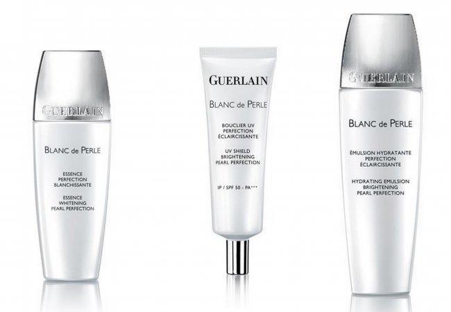 La línea blanqueante de Guerlain, Blanc de Perles