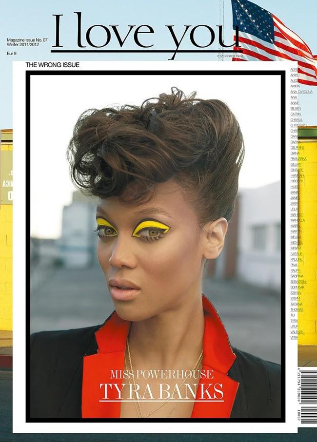 Tyra Banks en su primera portada tras tres años con sombras amarillas