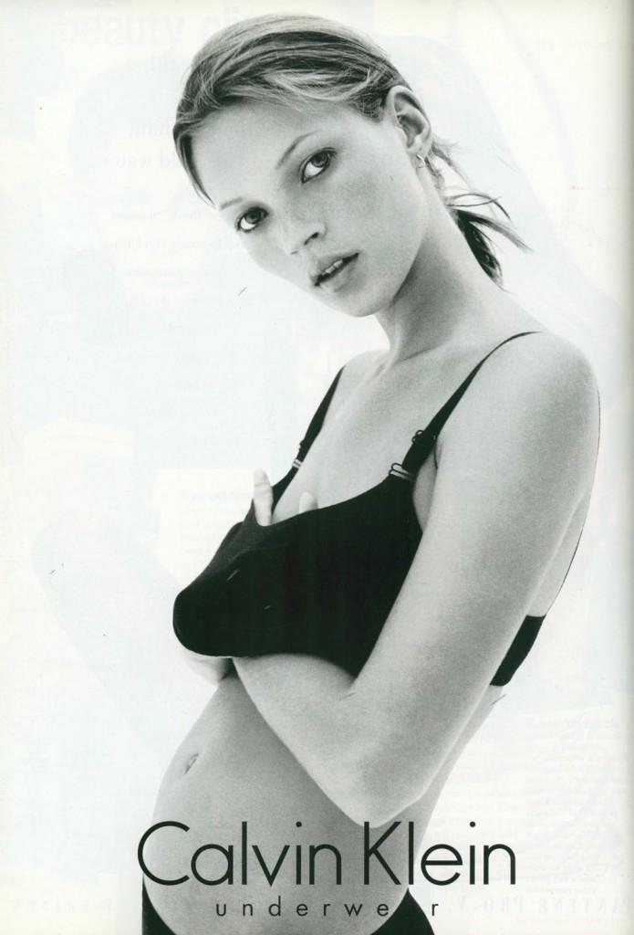 De cuando Kate Moss hacía publicidad para Calvin Klein
