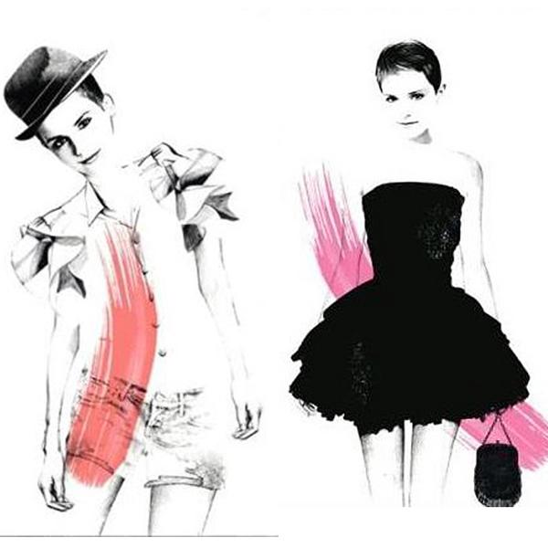 Las primeras imágenes de Emma Watson como imagen para Lancôme Rouge in Love