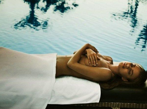 Irina Shayk es imagen para los spas de Germaine Capuccini