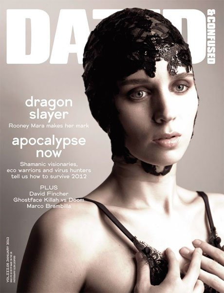 Rooney Mara en la portada de Dazed & Confused