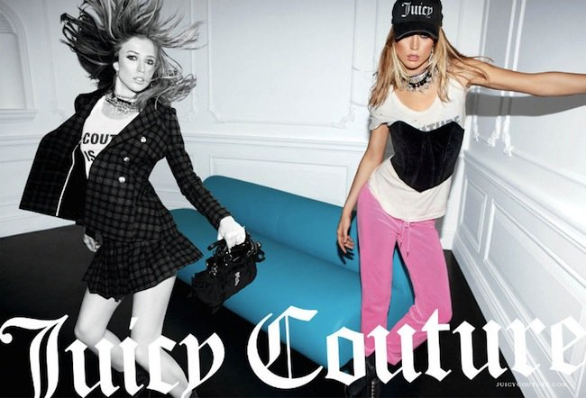 Campaña Juicy Couture Otoño-Invierno 2011/2012: Raquel Zimmermann es la Barbie Rock Star