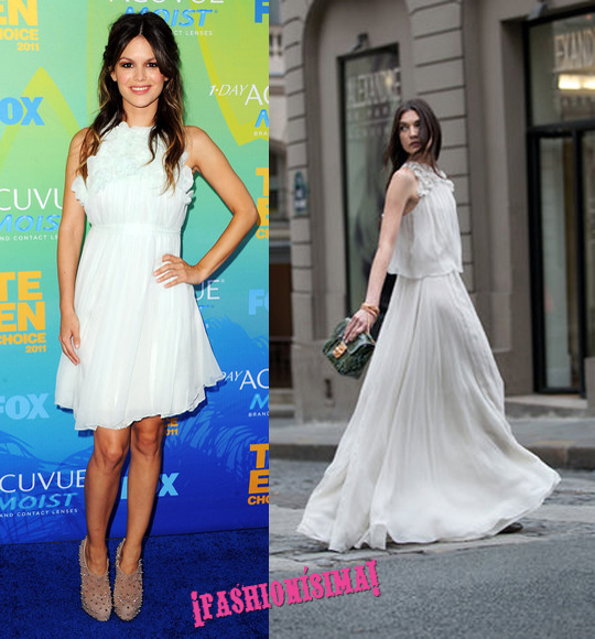 Rachel Bilson, de Chloé, en los Teen Choice Awards 2011