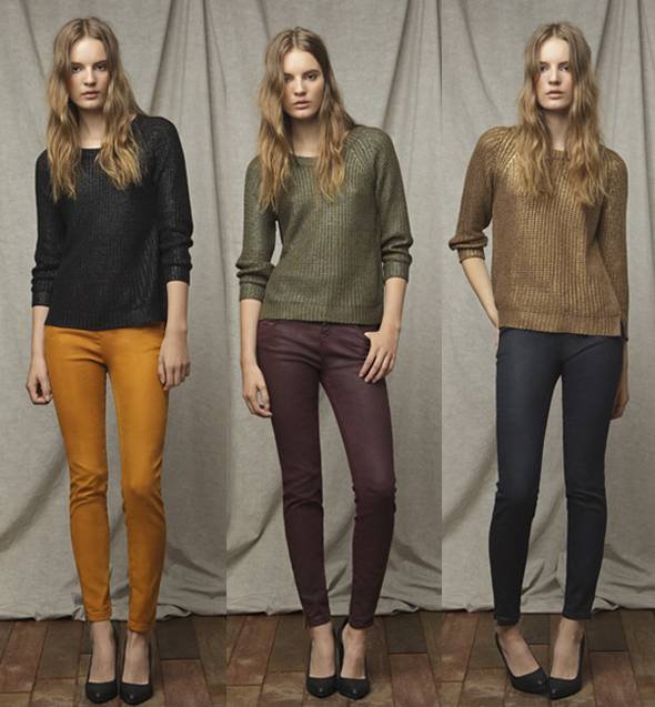 Lookbook Zara TRF agosto 2011
