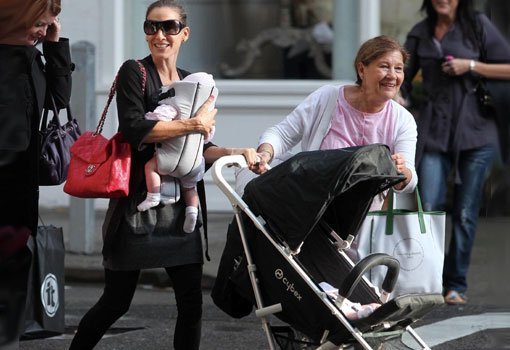 El cochecito (de bebé) favorito de las famosas