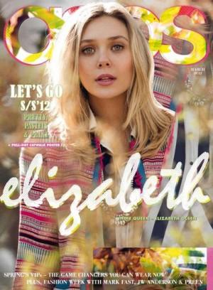 Las tres hermanas Olsen en la portada de la revista de Asos