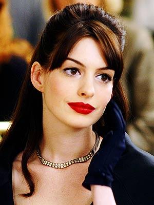 Labios perfectos en rojo pasión