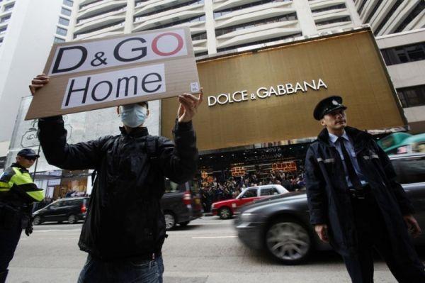 Dolce & Gabbana pide disculpas por los problemas en la tienda en Hong Kong