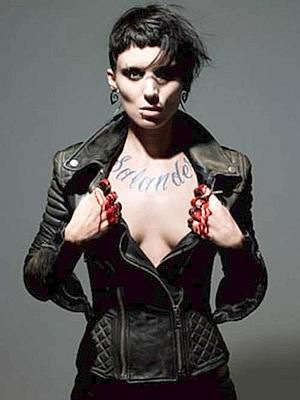 Rooney Mara y su Lisbeth Salander ponen de moda el negro más gótico