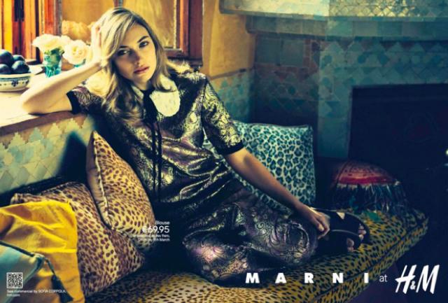 H&M y Marni ya tiene primera imagen para su campaña