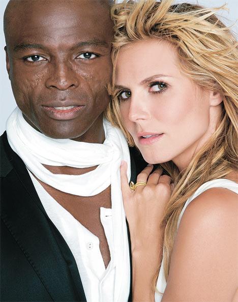 La modelo Heidi Klum se separa de su marido, Seal