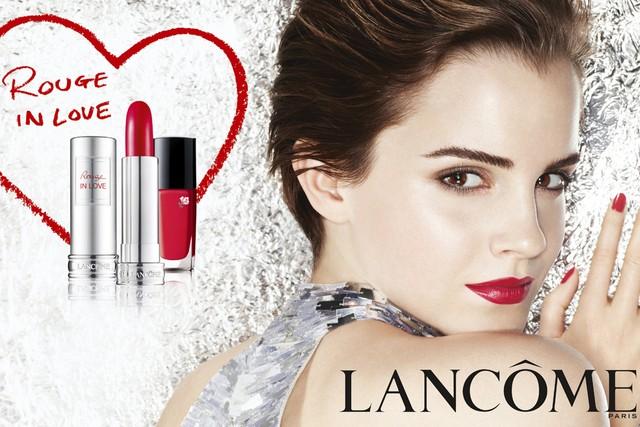 Más fotos de la nueva campaña de Lancôme con Emma Watson