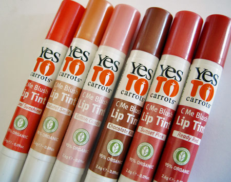 Probamos el Tint Balm de Yes To Carrots