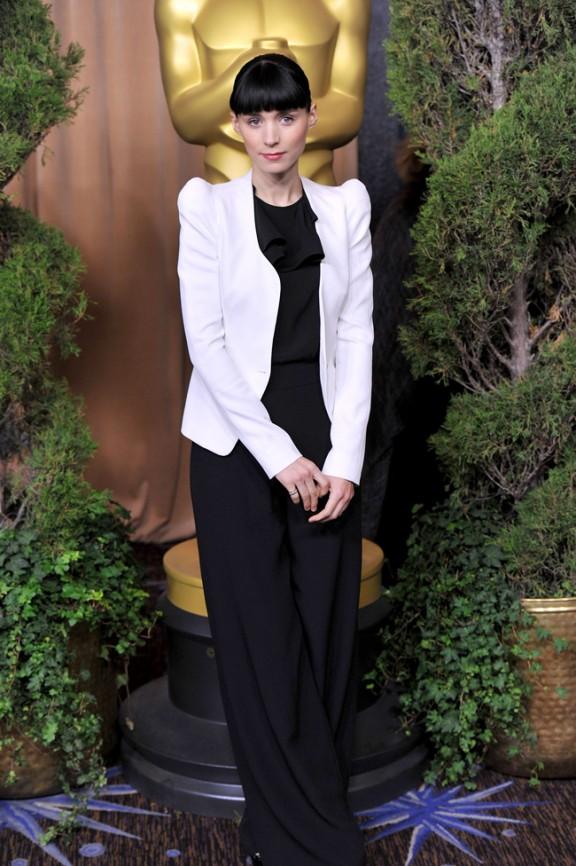 Las mejor vestidas en el almuerzo para los nominados a los Oscar