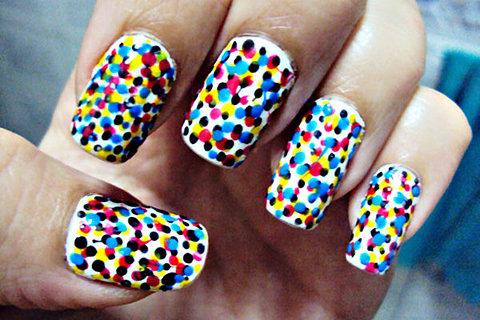 Trucos para hacer manicuras con nail art en casa