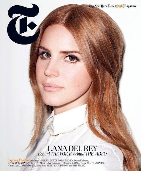 Lana del Rey continúa acaparando portadas
