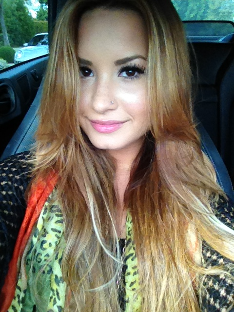 Demi Lovato pasa a ser del club de las rubias