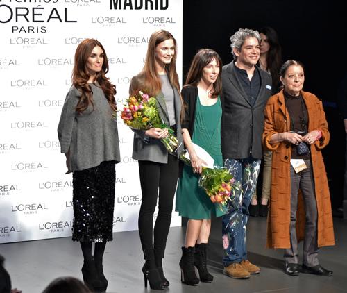 Premios L'Oreal a la mejor colección, a la mejor modelo y a la mejor colección del EGO
