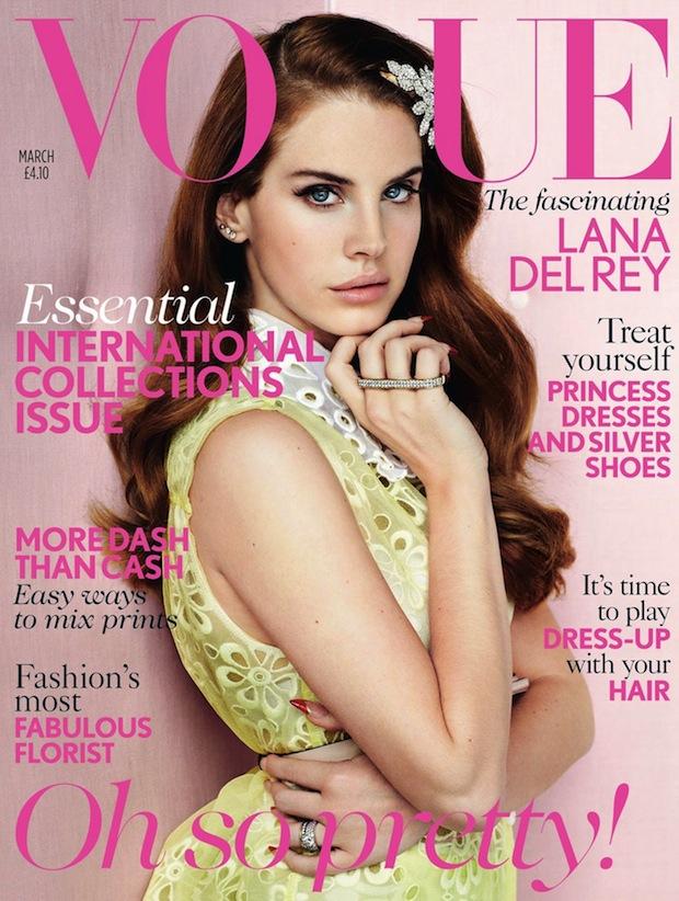 Lana del Rey da la sorpresa al ser la nueva portada de Vogue UK