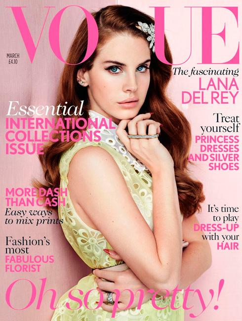 El mismo vestido de Louis Vuitton en dos portadas diferentes de Vogue