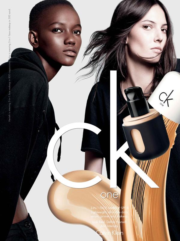 Calvin Klein lanza una línea de maquillaje bajo CK One