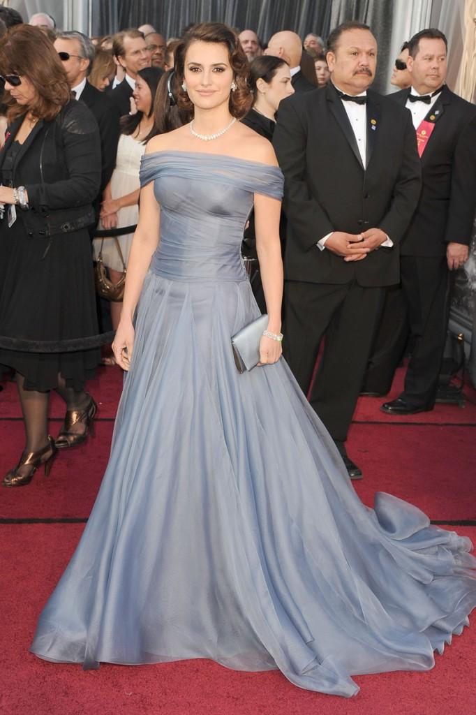 Las peor vestidas de los Premios Oscar 2012