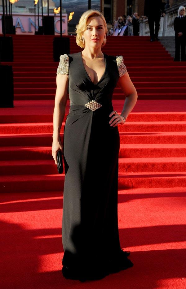 Kate Winslet en el estreno de Titanic 3D