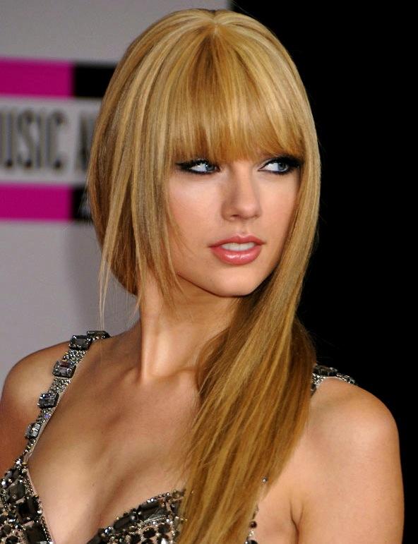 Taylor Swift de hobby, peluquera