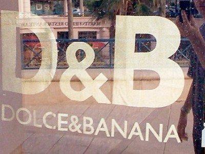 Dolce & Gabbana se querella contra Dolce & Banana