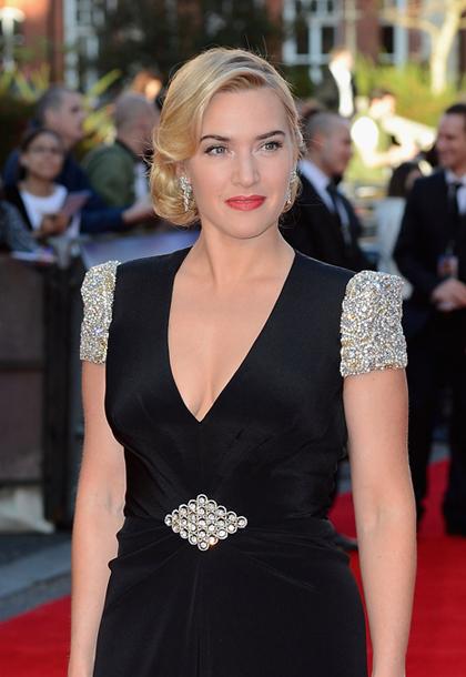 Kate Winslet desprendió verdadero glamour hollywoodiense en el estreno de Titanic 3D