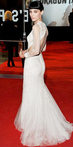 La sombra de Rooney Mara es muy alargada para Givenchy