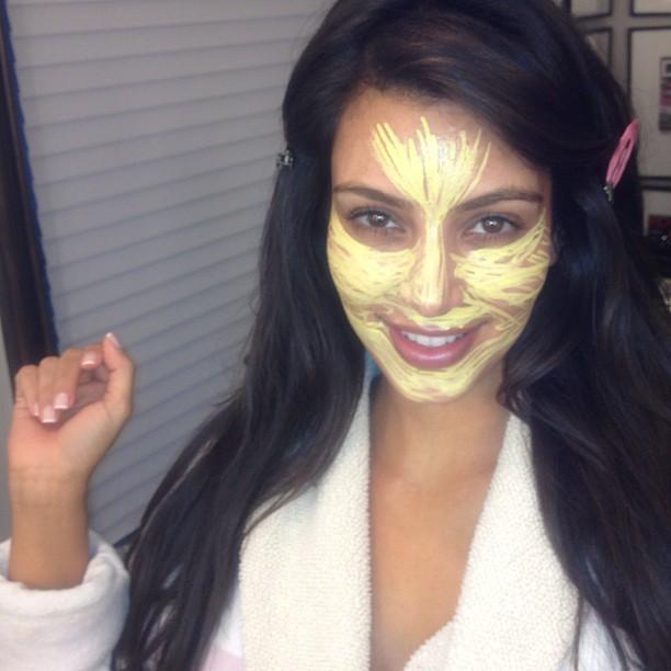 Kim Kardashian: el antes y el después de su maquillaje