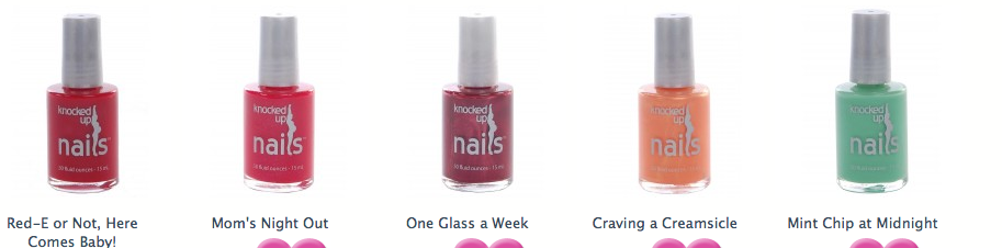 Nocked Up Nails, los esmaltes de uñas seguros para embarazadas