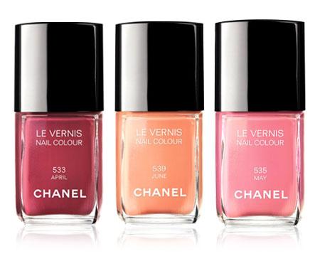 Un esmalte para cada mes de la primavera, lo último de Chanel