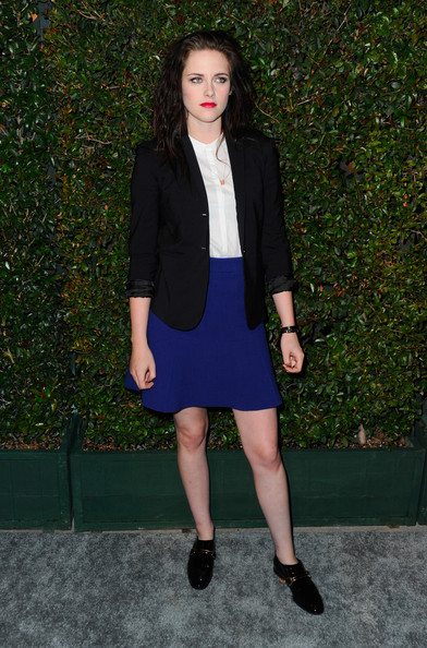 ¿Qué os parece este look de Kristen Stewart?