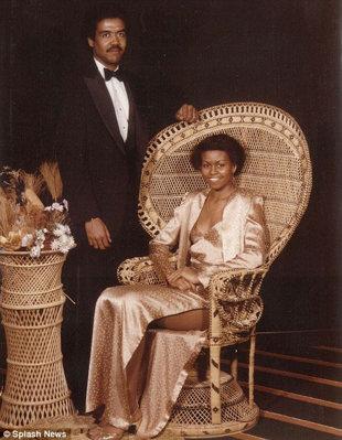 Mira cómo lucía pierna Michelle Obama cuando era joven