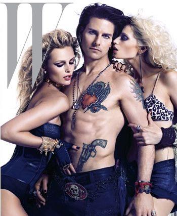 ¿De dónde ha sacado Tom Cruise todos los tatuajes que luce en la portada de W?