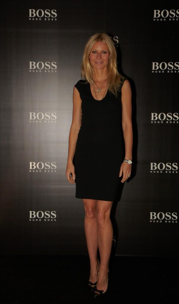 Gwyneth Paltrow es la nueva imagen de Boss, para su nueva fragancia Boss Nuit Pour Femme