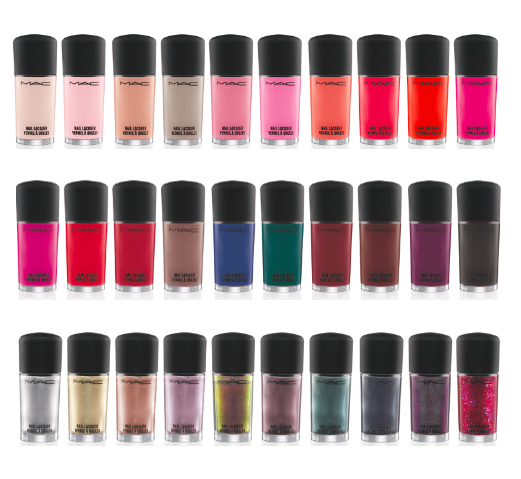 MAC tendrá una colección de 30 esmaltes de forma permanente