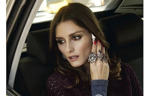 Olivia Palermo posa para la revista de la joyería Rabat