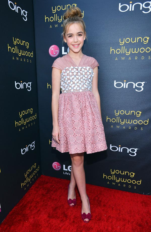 Las mejor vestidas de los Young Hollywood Awards 2012
