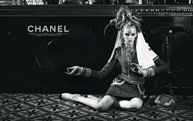 Campaña Chanel pre-fall 2012, pasaje a la India