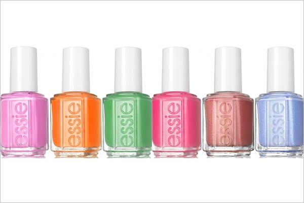 Los colores de esmaltes Essie más veraniegos