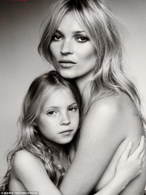 La hija de Kate Moss quiere ser modelo como su madre